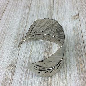 Jewelry - Boho Feather Cuff Bold Statement Festival